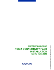 Nokia NAVIGATOR 6210 Support Manual