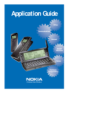 Nokia COMMUNICATOR 9110 Application Manual