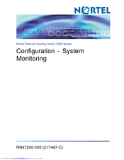 We Have 4 Nortel BayStack 5520 48T PWR Manuals Available For Free PDF Download Configuration Install Manual Specifications Product Brief