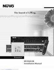 nuvo essentia nv e6d uk manuals rh manualslib com nuvo essentia user manual Nuvo Grand Concerto Keypad for Bezel