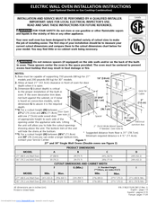 Electrolux EI27EW45JS Installation Instructions Manual