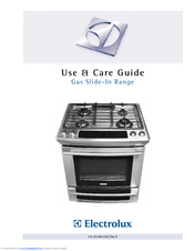 Electrolux EI30GS55L Use And Care Manual