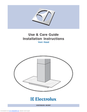 Electrolux ICON RH36WCT6GS Use & Care Manual Installation Instructions