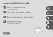 Epson Stylus Office BX320FW Basic Operation Manual