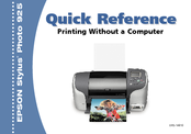 Epson Stylus Photo 925 Quick Reference