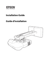 Epson PowerLite 460 Installation Manual