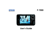 Epson P7000 - Multimedia Photo Viewer User Manual