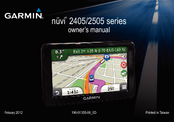 Garmin nuvi 2445 Owner's Manual