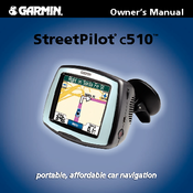garmin streetpilot c510 manuals rh manualslib com Garmin GPS with Backup Camera Garmin StreetPilot C550