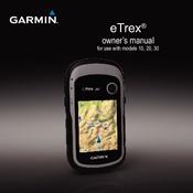 Garmin Etrex 30 Owner S Manual Pdf Download Manualslib