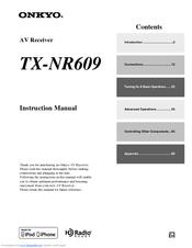 Onkyo | tx-nr609.