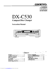Onkyo DX-C530 User Manual
