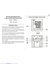 oregon scientific emr812a user manual pdf download rh manualslib com