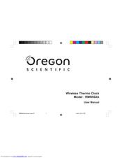 oregon scientific rmr602a manuals rh manualslib com Oregon Scientific Wrist Oregon Scientific Manuals AW131