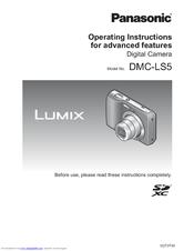 PANASONIC LUMIX DMC-LS5 OPERATING INSTRUCTIONS MANUAL Pdf Download
