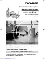 panasonic kx tg5471 manuals rh manualslib com