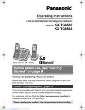 panasonic kx tg6582t operating instructions manual pdf download rh manualslib com  panasonic kx-tg6582t dect 6.0 plus manual