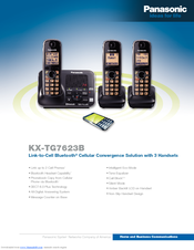 panasonic kx tg7623b manuals rh manualslib com panasonic kx-tg7623b manual Panasonic Kx 390 B Manual