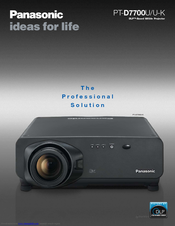 panasonic pt d7700 manuals Panasonic Smart TV Panasonic Rear Projection TV