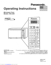 Panasonic NNL930BA User Manual