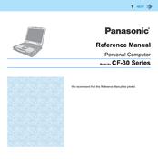 Panasonic Toughbook CF-30KTPAX2M Reference Manual