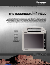 Panasonic Toughbook CF-H1CSLRG6M Specifications