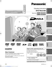 panasonic dmres46v manuals rh manualslib com panasonic dmr-es46v user manual dmr-es46v manual