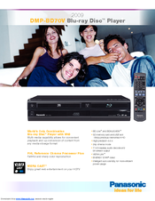 Driver for Panasonic DMP-BD77GW Blu-ray Player