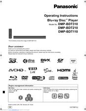panasonic dmp bdt110 manuals rh manualslib com dmp-bdt110 manual dmp-bdt110 manual