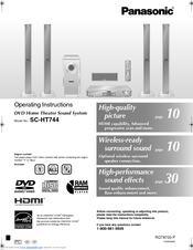 panasonic saht744 manuals rh manualslib com Panasonic.comsupportbycncompass Panasonic Cordless Phones