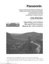 Panasonic CQ-R253U User Manual
