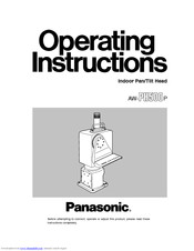 Panasonic AW-PH500p Operating Instructions Manual