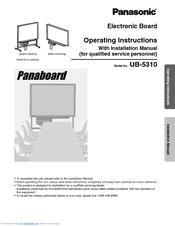 panasonic whiteboard manual