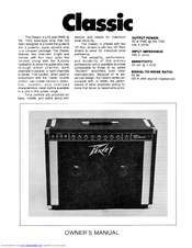 peavey classic 30 manuals rh manualslib com User Guide Icon Online User Guide