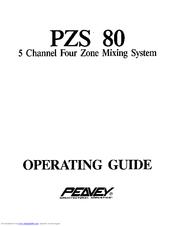 Peavey PZS 80 User Manual