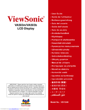 VIEWSONIC VA503M TOUCH WINDOWS 7 X64 DRIVER