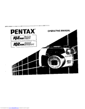 pentax iqzoom 200 operation manual pdf download rh manualslib com Pentax IQZoom EZY-R Pentax IQZoom 105G