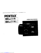 pentax ezy r user manual pdf download rh manualslib com Pentax IQZoom 140 Pentax IQZoom 105G