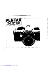 pentax me super manuals rh manualslib com pentax me super camera user's manual pentax me super instruction manual