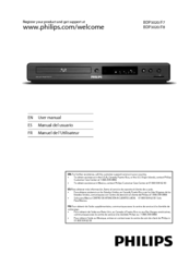 Philips BDP3020 User Manual