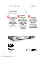 philips dvdr3400 37 manuals rh manualslib com Philips DVDR3506 DVD Recorder Philips DVDR3506 DVD Recorder