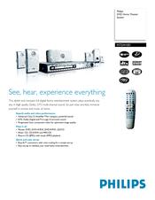 philips hts3410d manuals rh manualslib com Philips Universal Remote User Manual Philips User Guides Speaker Bt7900