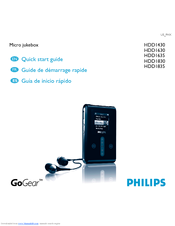 Philips HDD1630/17B MP3 Player Drivers Download (2019)