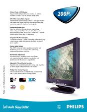 philips 200p3g brilliance 20 1 lcd monitor manuals rh manualslib com philips brilliance 200w manual philips brilliance 200w service manual