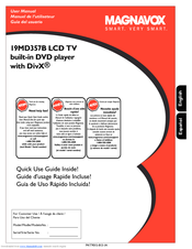 MAGNAVOX 19MD357B USER MANUAL Pdf Download