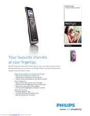 Philips Prestigo SRU8015 Specifications