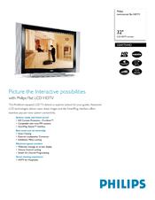 philips 32 lcd hdtv monitor commercial flat hdtv 32hf7544d hook up rh manualslib com 32 Inch HDTV LG 32 720P LCD HDTV
