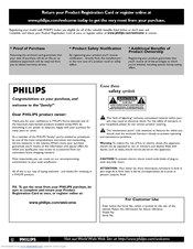 Philips 42PFL7422D User Manual