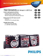 Philips FW-C577/37 Specifications
