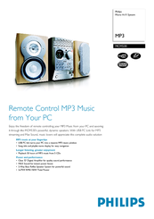 Philips MCM530/37 Micro Hi-Fi System Drivers for Windows 10